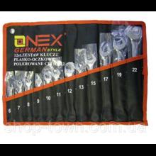 Набор ключей комбинированных ONEX 6-22мм,12 предметов)