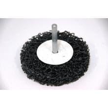 Нейлоновый шлифовальный диск GermaFlex d100/13/6 в дрель (Карбит/кремния)