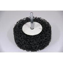Нейлоновый шлифовальный диск GermaFlex d80/26/6 в дрель (Карбит/кремния)