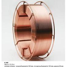 Сварочная проволока SG2 0,8 mm 15кг пласт.бухта