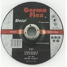 Диск зачистной GermaFlex по металлу d150/6,0/22,2
