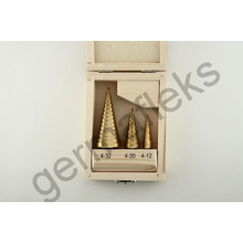 Набор свёрл по металлу SEB /OX501 ступенчатые (3шт.)
