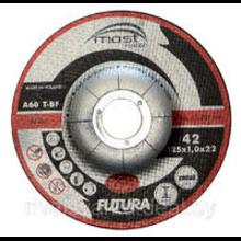 Диск отрезной по металлу INOX DRONCO d125/1,6/22,23