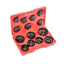 Набор насадок для снятия маслянных фильтров BASS HS-1245 1/4 (14 предметов)